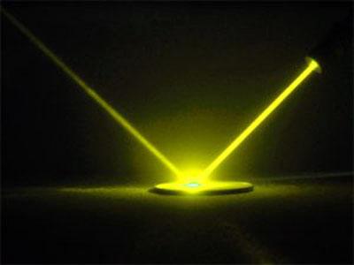 Желтый лазер